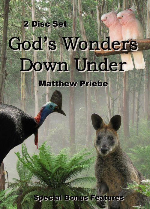 God's Wonders Down Under front cover